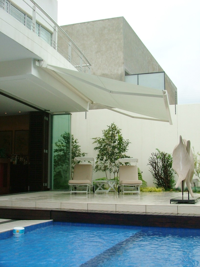 Folding Arm Awnings - OzSun Shade Systems, Sydney
