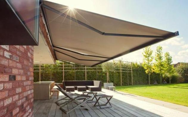 Sunbox Folding Arm Awning