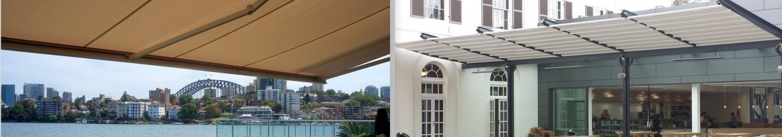 folding arm awning and retractable roof system sydney