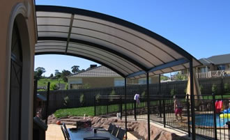 patio fixed awnings - Carbolite awnings -Ozsun shade systems - Sydney