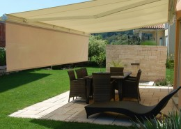 Folding-Arm-Awnings-Helioshade with vario valanceOzsun Shade Systems and Awnings Sydney