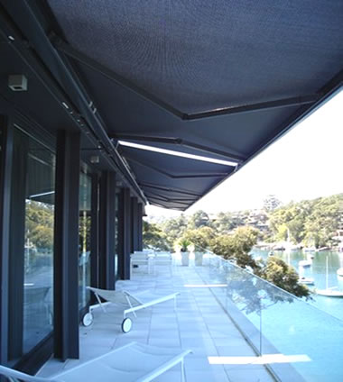 Spandau-kompakt-cassette-folding-arm-awnings-with-soltis-fabricOzsun Shade Systems and Awnings Sydney