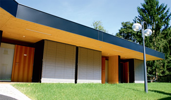 Motorised External Venetians - Ozsun Shade Systems Sydney