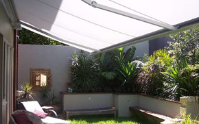 folding arm awning - Ozsun Shade Systems, Sydney Awnings
