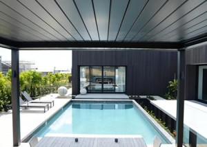 Louvered Roof -Ozsun Shade Systems Sydney