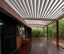 louvered-roof - Ozsun Shade Systems Sydney