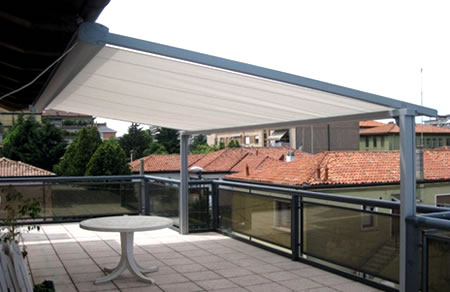 Roma Conservatory Awnings - Ozsun Shade Systems