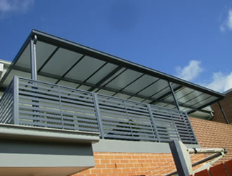flat patio carbolite awnings -  Ozsun shade systems