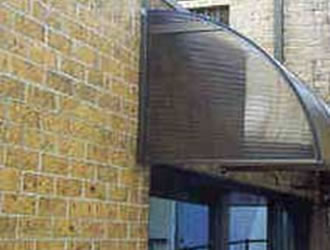 1/2 domed carbolite awnings - ozsun shade Systems