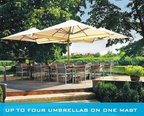 designer Umbrellas-Ozsun Shade Systems Sydney