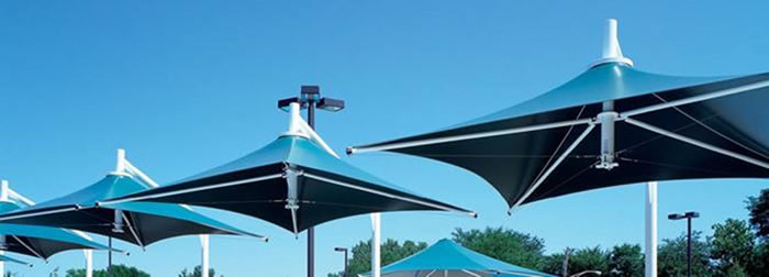 Leva Commercial Umbrella - Ozsun awnings, blinds & shutters, Sydney
