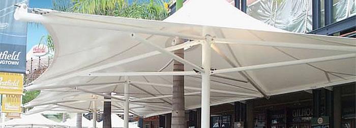 Monaco Commercial Umbrella - Ozsun awnings, blinds & shutters, Sydney