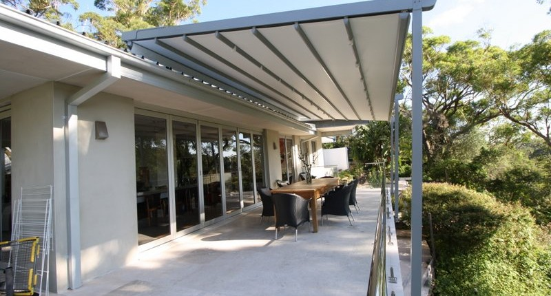 ROOF MOUNTED RETRACTABLE ROOF SYSTEM WAHROONGA