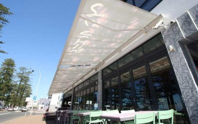 Commercial Awnings for Pubs, Restaurants and Cafes