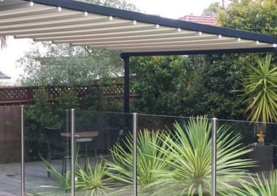 Retractable Roof System at Lilli Pilli