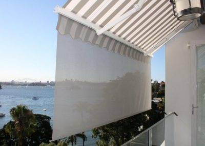 Folding Arm Awnings at Point Piper