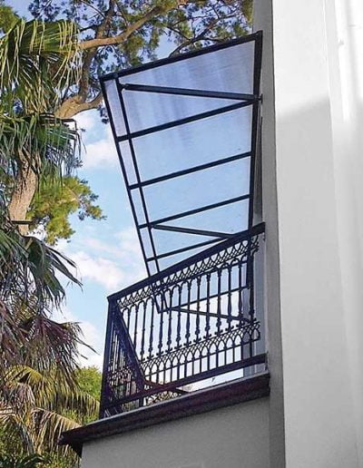 Fixed-awnings
