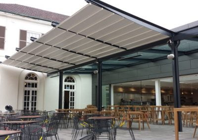 Retractable Roof System at Sydney University